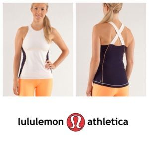 Lululemon spin it to win it tank top